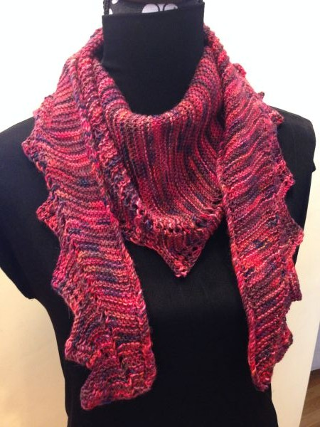 Zig Zag Scarf Knitting Pattern : Zig Zag Scarf Knits and That